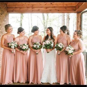 Azazie Dresses - Azazie Ginger Dusty Rose Bridesmaid Dress 8